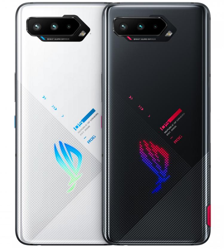 ASUS представила ROG Phone 5 — игровой смартфон с мощной начинкой и RGB-подсветкой