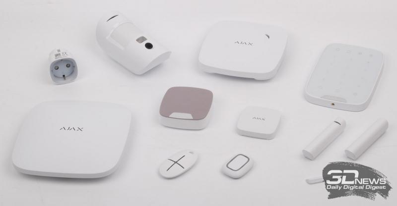 Комплект системы безопасности Ajax