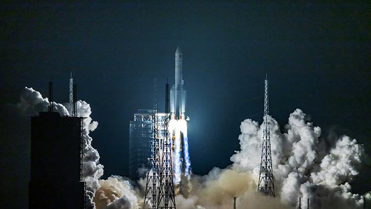 Декабрьский запуск ракеты-носителя CZ-8 («Чанчжэн-8» или Long March 8)