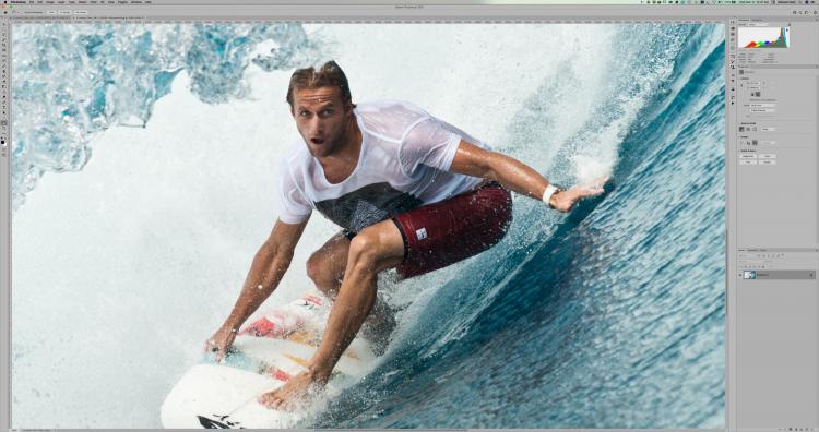 Растянутое через Super Resolution изображение 8512×5664 в масштабе 100% в Adobe Photoshop