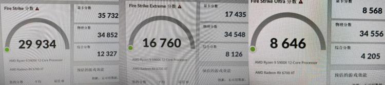 Результат Sapphire Radeon RX 6700 XT NITRO в 3DMark Fire Strike