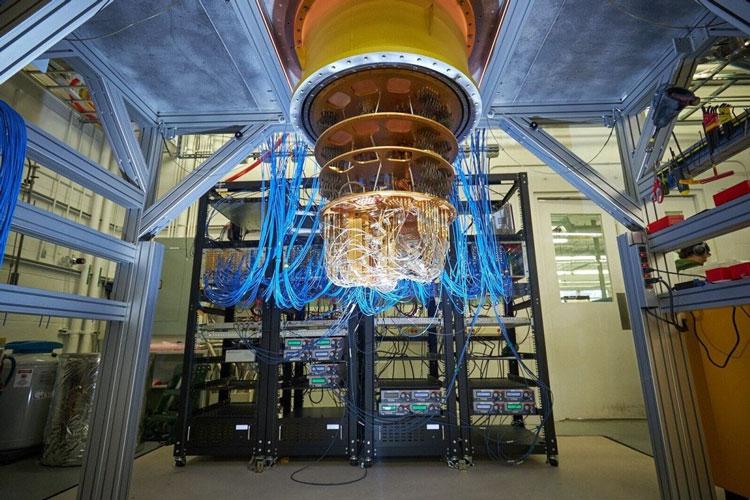 Квантовая система Google Sycamore. Источник изображения: Google