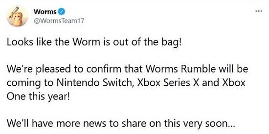 """Worms Rumble доберётся до Switch и консолей Xbox в этом году — подробности уже скоро"""""""