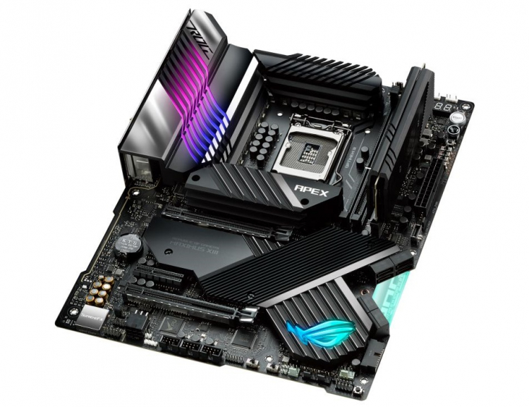"ASUS представила материнскую плату ROG Maximus XIII Apex для разгона процессоров Rocket Lake-S"""