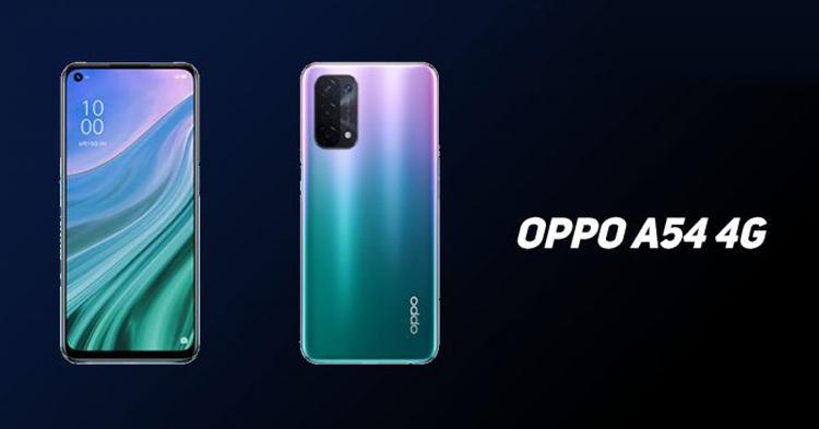 Смартфон OPPO A54 с ёмким аккумулятором выйдет в версии 4G