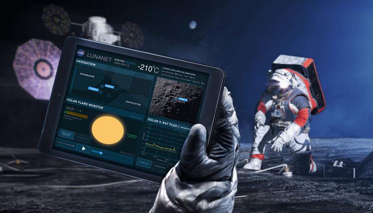 """NASA приступила к созданию интернета на Луне"""""""