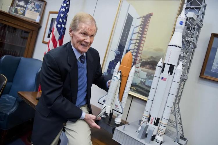 Бывший сенатор и астронавт Билл Нельсон назначен главой NASA
