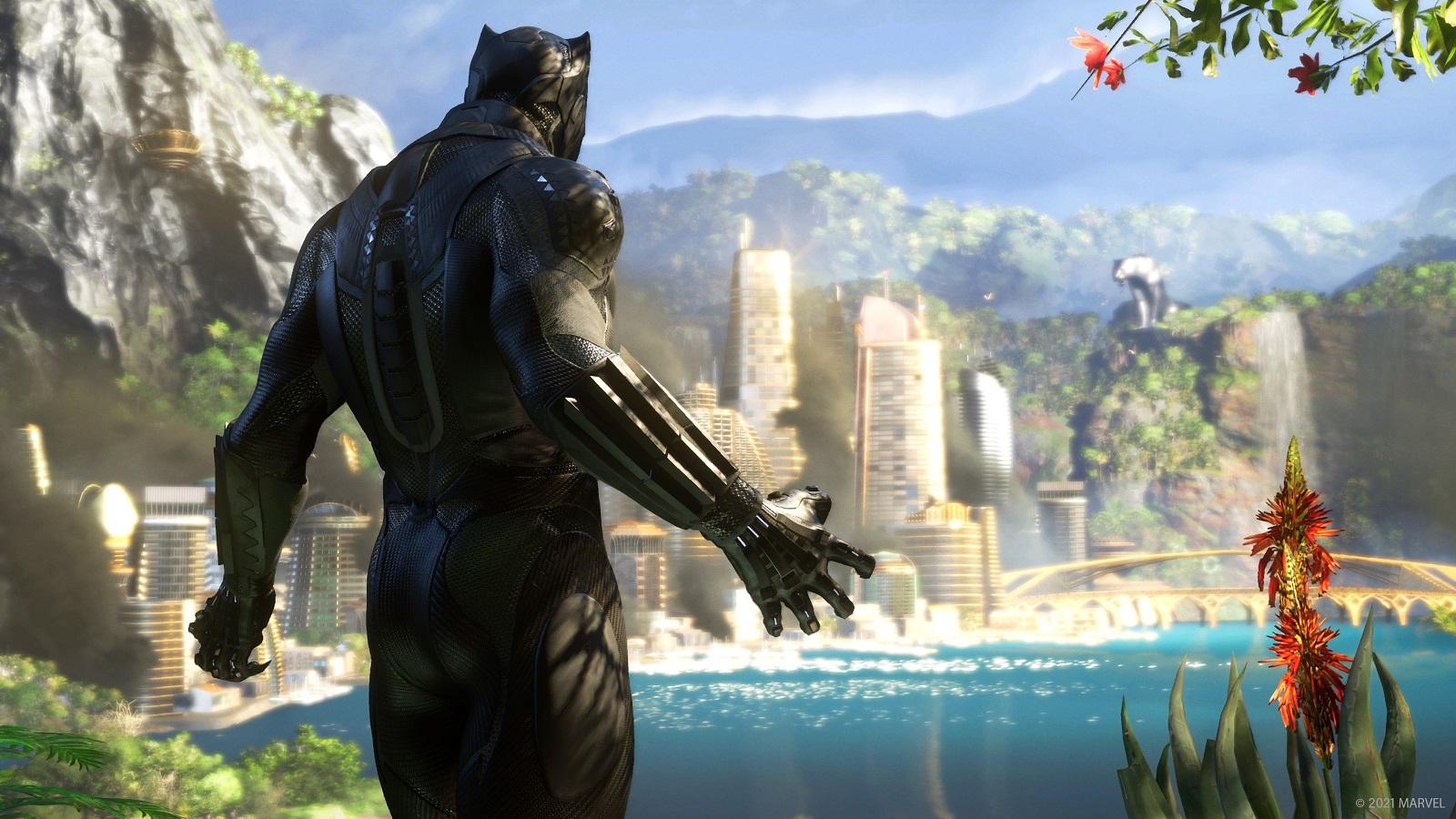 Marvels Avengers вышла на консолях текущего поколения, а до конца года в игре появится Чёрная пантера и не только