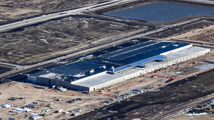 Строительная площадка Foxconn в штате Висконсин на январь 2020 года. Источник изображения: Getty Images