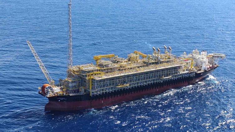 Плавучая платформа Modec для глубоководной добычи нефти