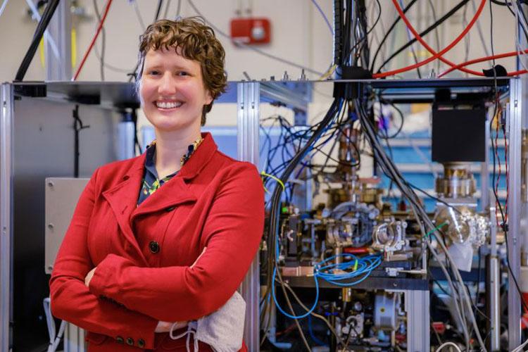 Часть квантовой системы Источник изображения: Bret Latter, Sandia National Laboratories