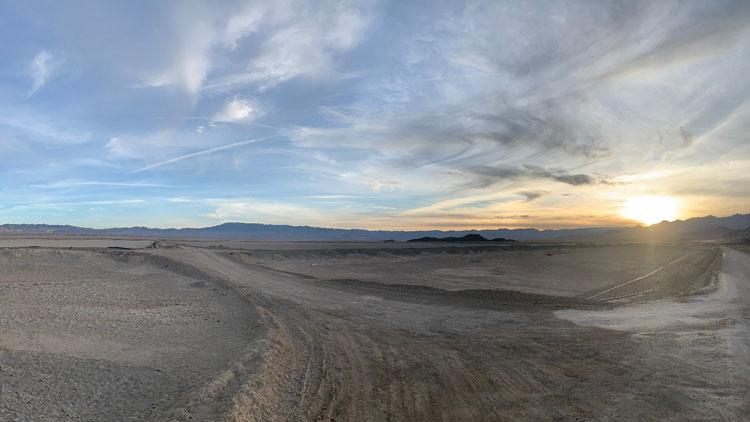 Через несколько лет этот пейзаж в штате Невада украсит завод по добыче лития