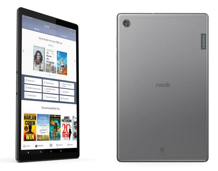 """Анонсирован 10-дюймовый планшет Nook от Barnes & Noble Nook и Lenovo по цене $129,99"""""""