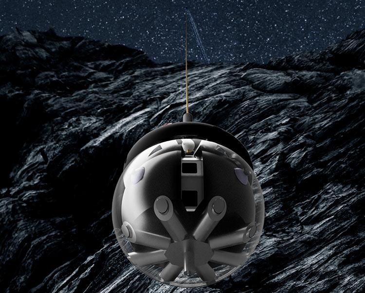 В Европе разработают специального робота для исследования лунных пещер