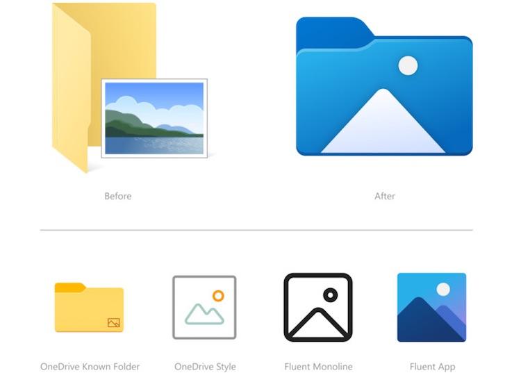 Windows 10 получила совершенно новые иконки в «Проводнике»