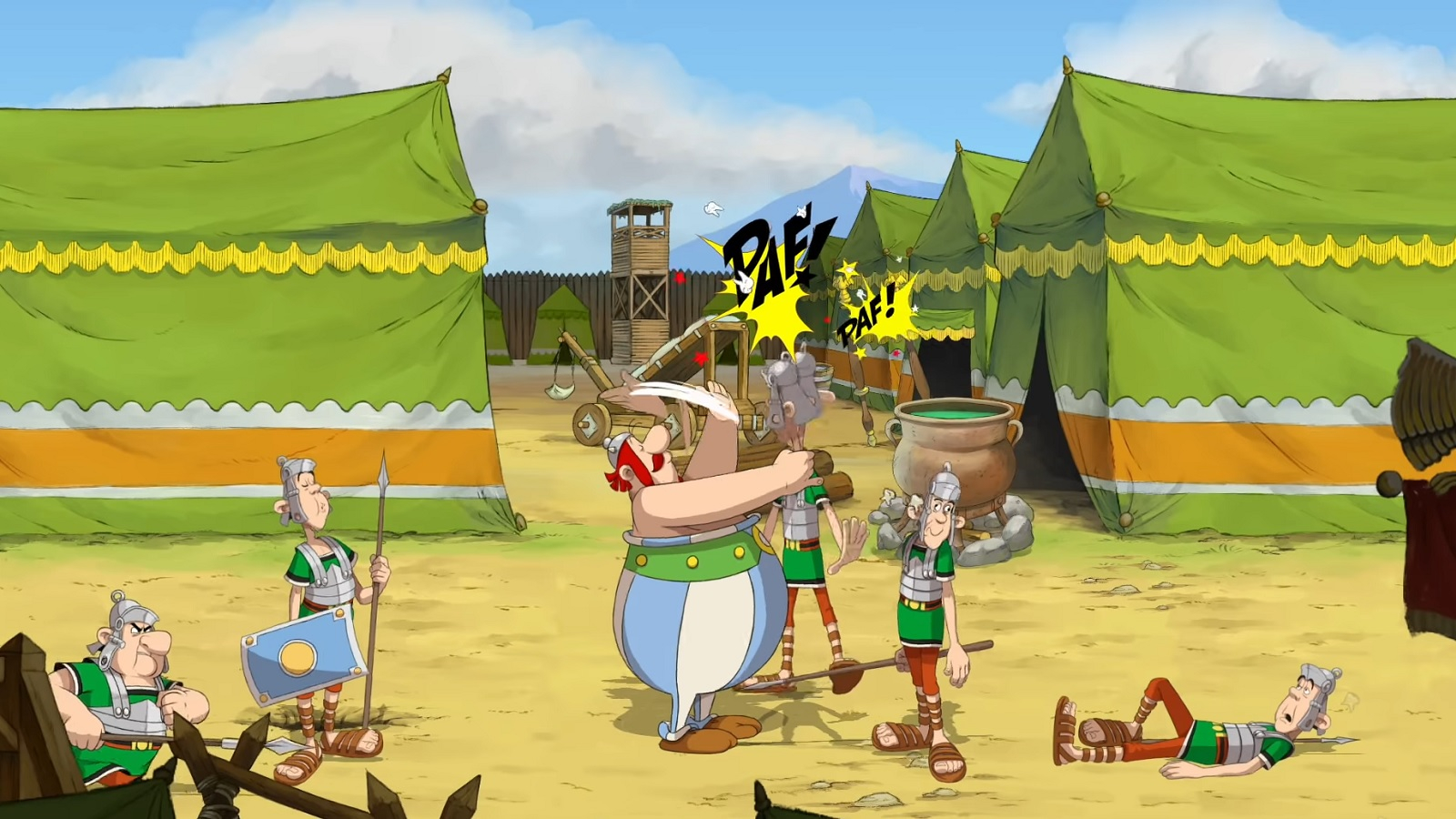 Microids выпустит новую игру про Астерикса и Обеликса  Asterix & Obelix: Slap Them All!