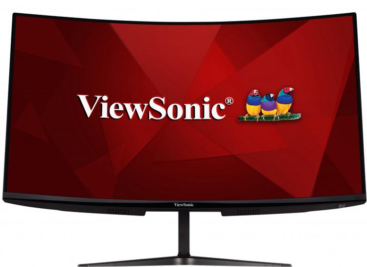 """ViewSonic представила вогнутый 32"""" монитор для игр с частотой обновления 165 Гц"""