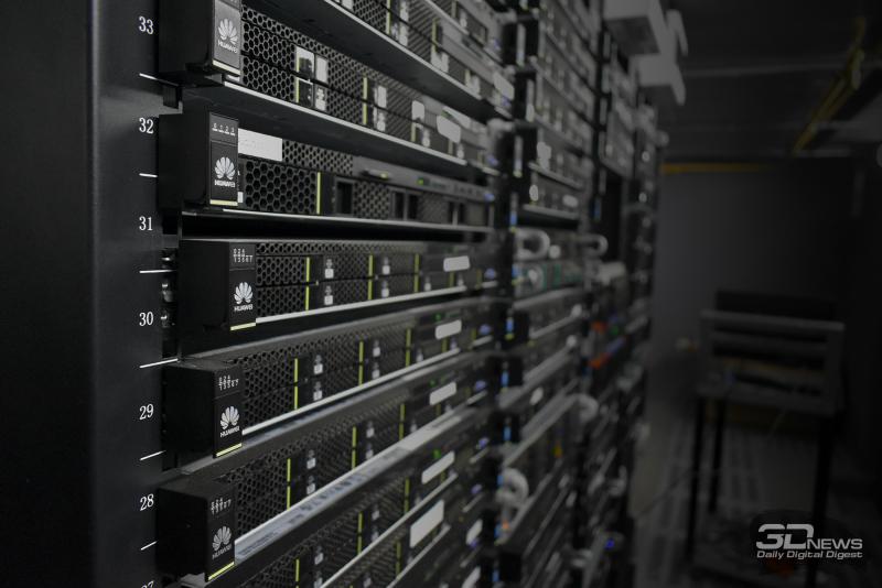 Серверы в дата-центре RUVDS