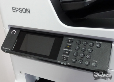 Обзор МФУ Epson WorkForce Pro WF-C879RDTWF: экономь на больших объёмах