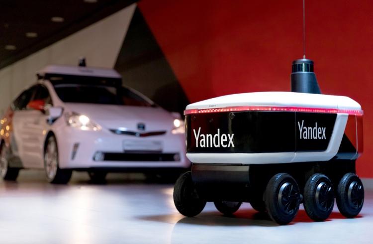 «Яндекс» запустит сервис доставки с помощью роботов-курьеров в США и других странах