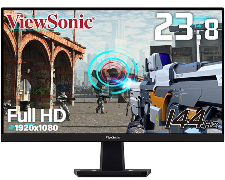 """Новый 24"""" игровой монитор ViewSonic обладает поддержкой AMD FreeSync Premium"""