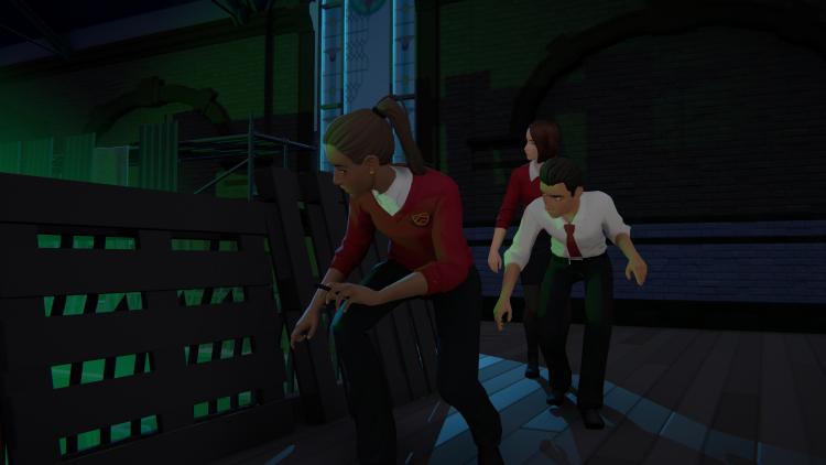 6 минут игрового процесса приключения Last Stop от создателей Virginia