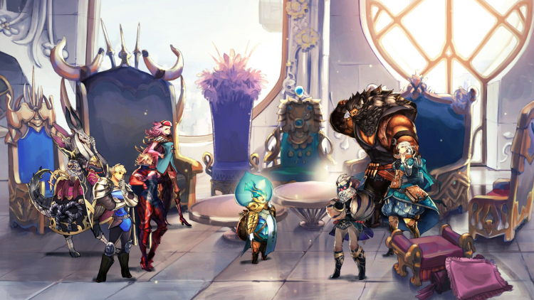 Представлена Astria Ascending — новая рисованная JRPG для ПК и консолей от создателей Final Fantasy