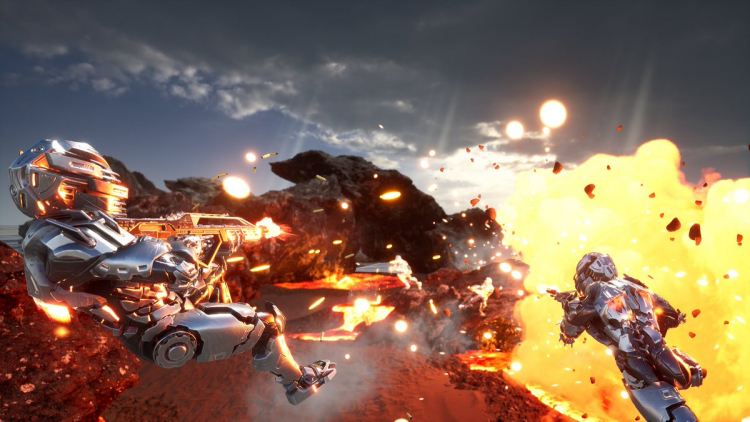 Двухминутный трейлер условно-бесплатной стрелялки ExoMecha в духе Crysis