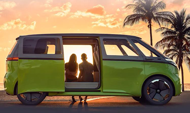 Электрический микроавтобус Volkswagen I.D. Buzz выйдет в Европе в 2022 году