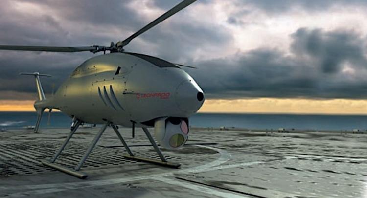 Беспилотный вертолёт-наблюдатель может стать частью военно-морского флота Австралии