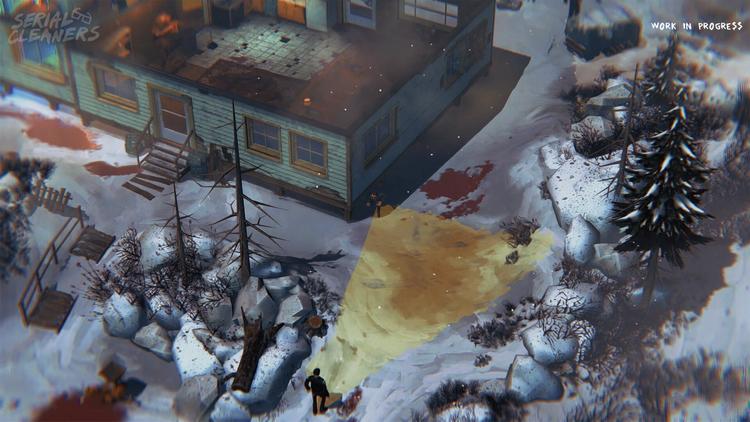 По мотивам «Фарго» 1996 года: лужи крови на снегу в новом трейлере Serial Cleaners