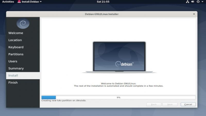 Вышел Debian 10.9 с поддержкой FWUPD SBAT и исправлениями ошибок