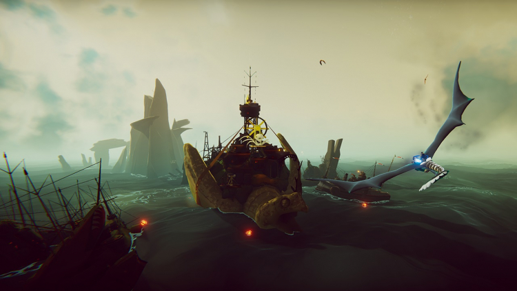 Свежее контентное обновление для The Falconeer позволит почувствовать себя пиратом