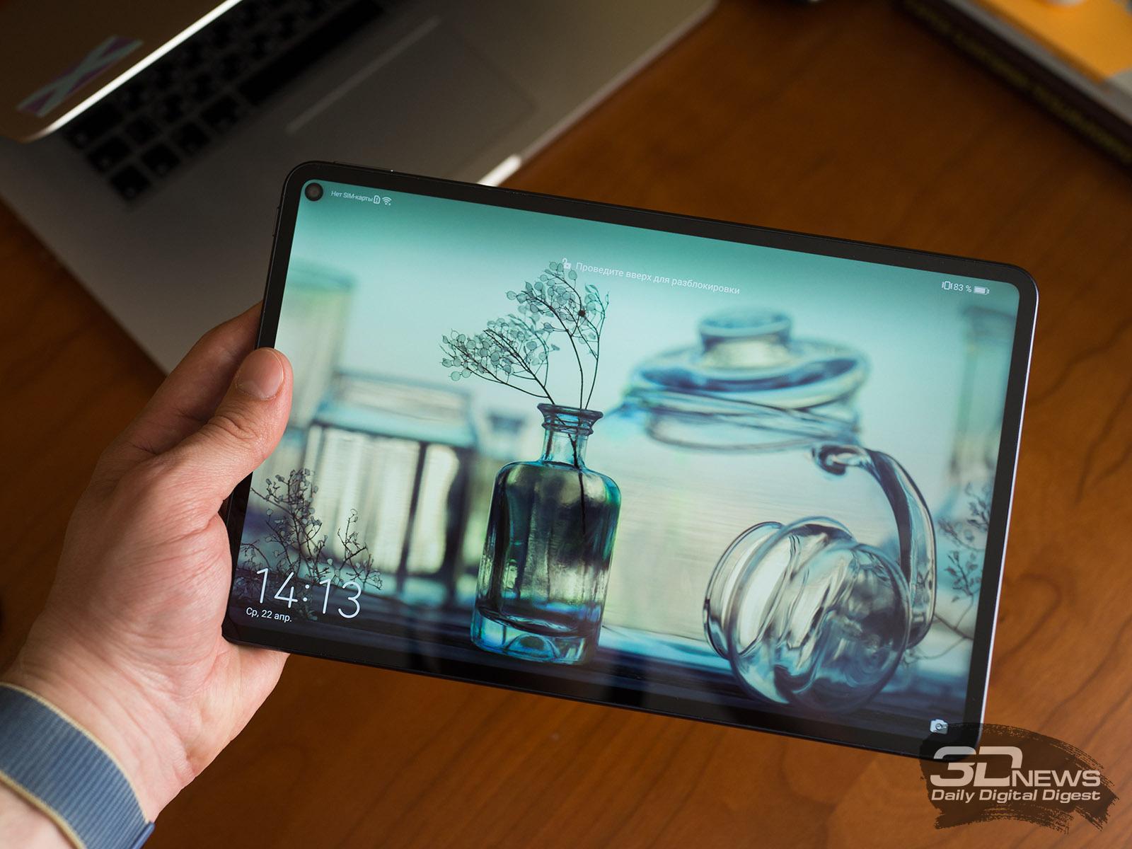 Huawei скоро выпустит флагманский планшет MatePad Pro 2 с фирменной HarmonyOS и поддержкой 5G