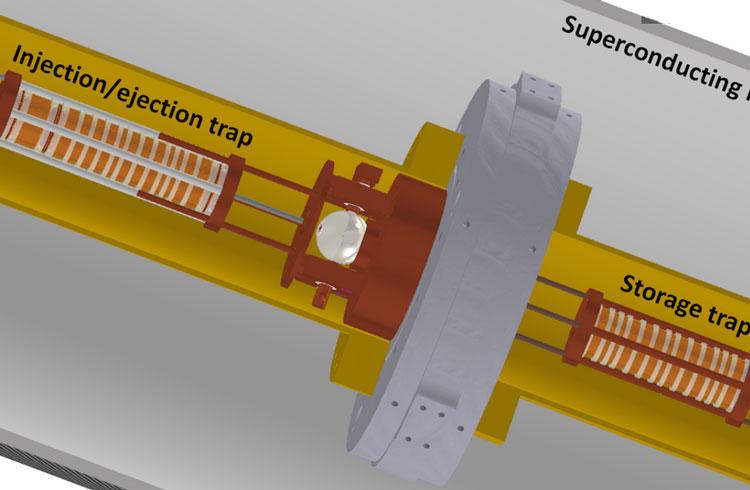 Принципиальное устрйоство для улавливания антипртонов. Источник изображения: CERN