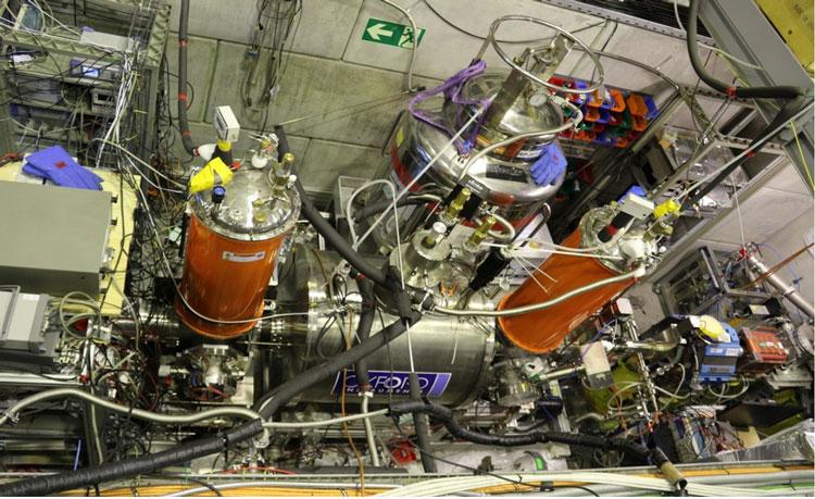 Опытная установка BASE-STEP. Источник изображения: CERN