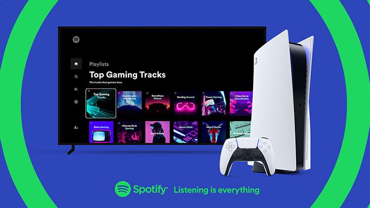 Spotify официально стала доступна на PS4 и PS5 в России, Украине и некоторых других странах
