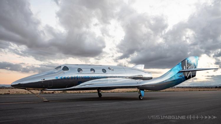 "Virgin Galactic представила VSS Imagine — свой первый космоплан семейства SpaceShipThree"""
