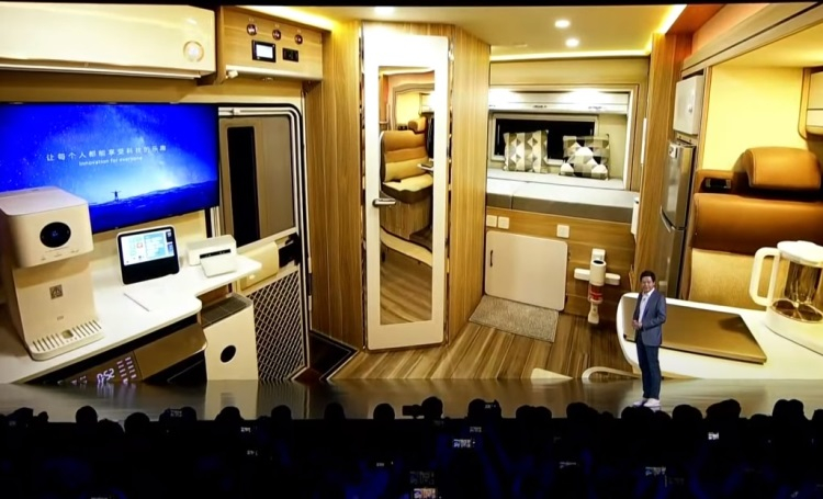 Xiaomi показала умный дом на колёсах