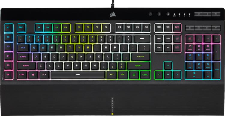 """Игровые клавиатуры Corsair K55 RGB Pro и K55 RGB Pro XT наделены набором макро-кнопок"""""""