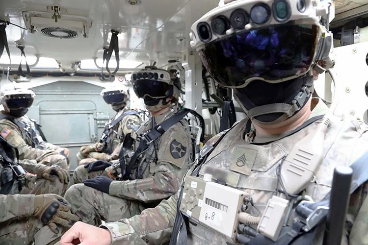 Обновлённый вариант гарнитуры IVAS (US Army)