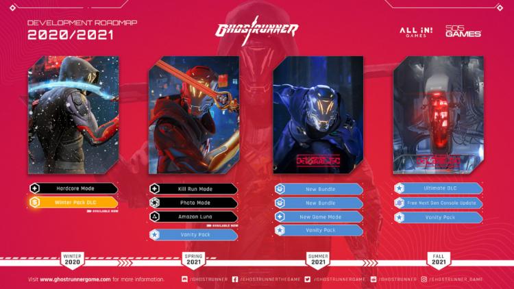 Дополнения, релиз на новых консолях и фоторежим: издатель Ghostrunner рассказал о плане развития игры до конца осени