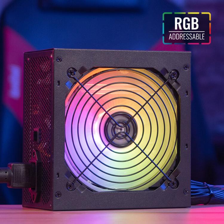 Мощность блоков питания Aerocool Dorado с подсветкой ARGB достигает 750 Вт