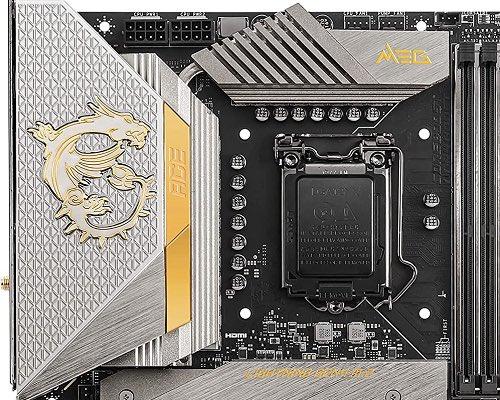 """MSI выпустит материнскую плату MEG Z590 Ace Gold Edition с вычурным дизайном"""""""