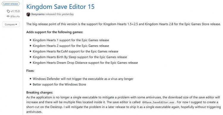 Энтузиаст разработал утилиту для переноса прогресса в нескольких частях Kingdom Hearts с консолей на ПК