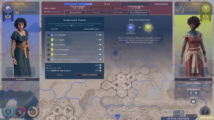 В новом видеодневнике разработчики 4X-стратегии Humankind рассказали о силе дипломатии