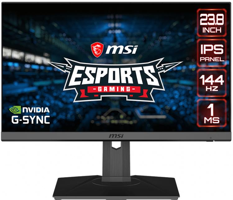 MSI представила игровой монитор Optix MAG245R с подсветкой Mystic Light и временем отклика 1 мс