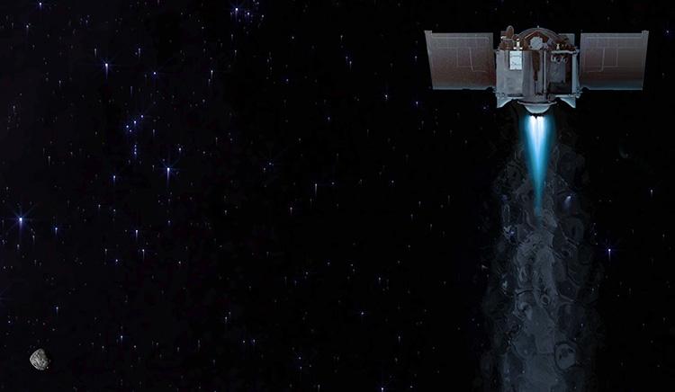 """NASA заинтересовалась повреждениями астероида Бенну из-за посадки на него зонда OSIRIS-REx"""""""