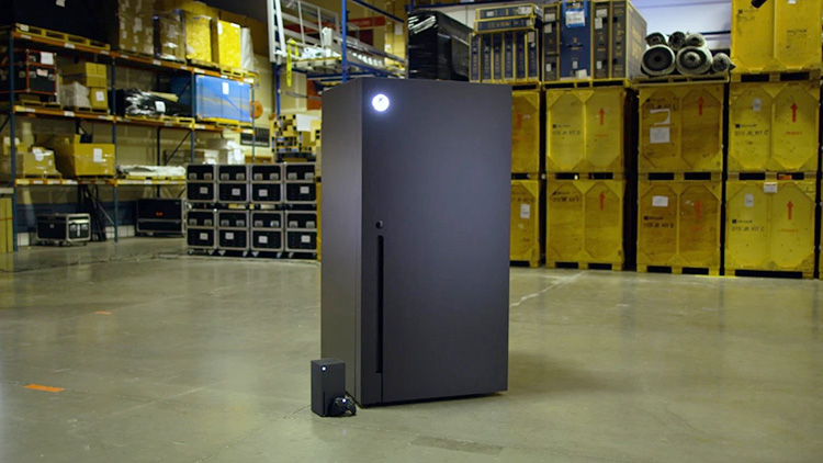Microsoft подтвердила планы по выпуску холодильников Xbox Series X