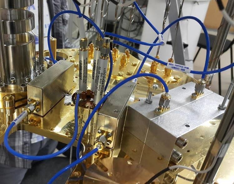 Часть двухкубитовой квантовой системы. Источник изображения: МФТИ